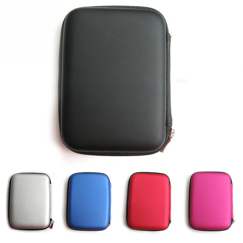 Hand Carry Case Cover Pouch for 2.5 inch Power Bank USB external WD HDD Hard Disk Drive Protect Protector Bag Enclosure Case(China (Mainland))