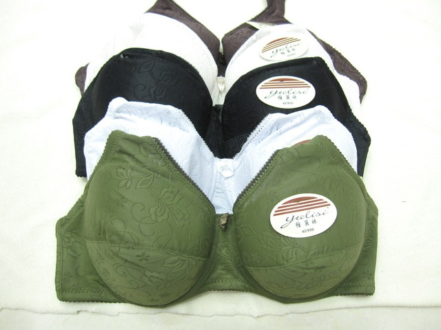 large size bras D cup push up bra 36/80,38/85,40/90,42/95 free ship
