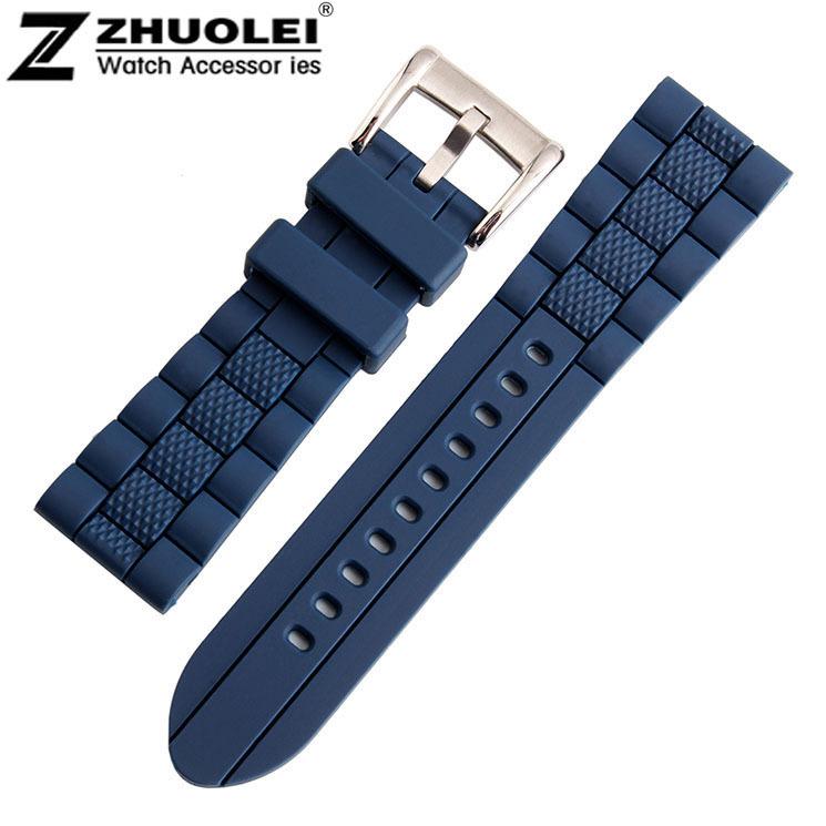 bracelet montre silicone 20mm. Black Bedroom Furniture Sets. Home Design Ideas