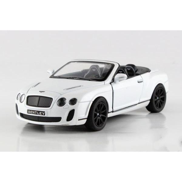 Children Kinsmart Bentley Continental Supersports Convertible Model Car 1:38 5inch Diecast Metal Alloy Cars Toy Pull Back Gift(China (Mainland))