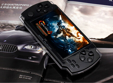 (30 PCS)COOL BOY X6 game/console hand / 4 GB memory/built - in camera / games /Support to download Handheld game consoles(China (Mainland))