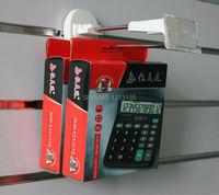 пластиковые крючки для дисплеев slatwall крюк для отображения