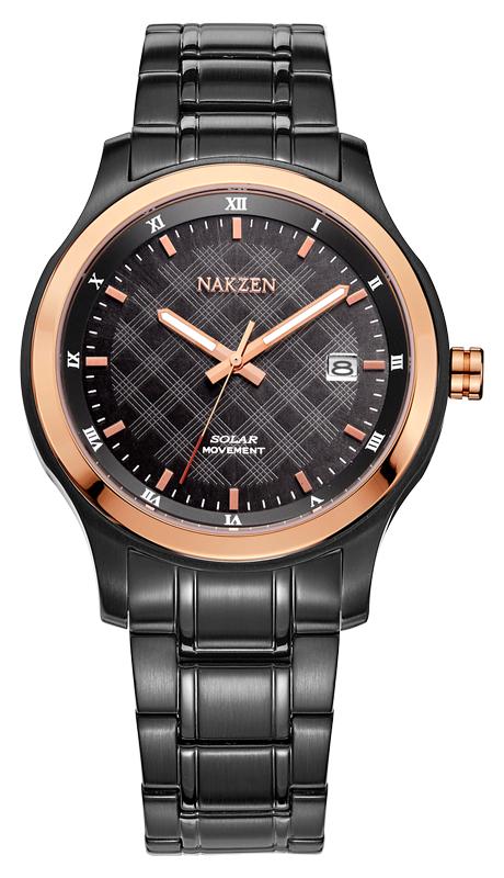 NAKZEN SS8012GTR-1N0 watches men luxury brand JAPAN MOVT MIYOTA outdoor run solar watch luminous  calendar relogio masculino<br><br>Aliexpress