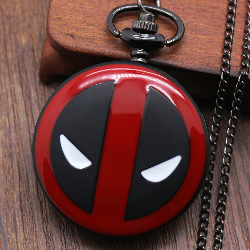 Fullmental deadpool Alice in wonderland nightmare before christmas captain america superman Pocket watch