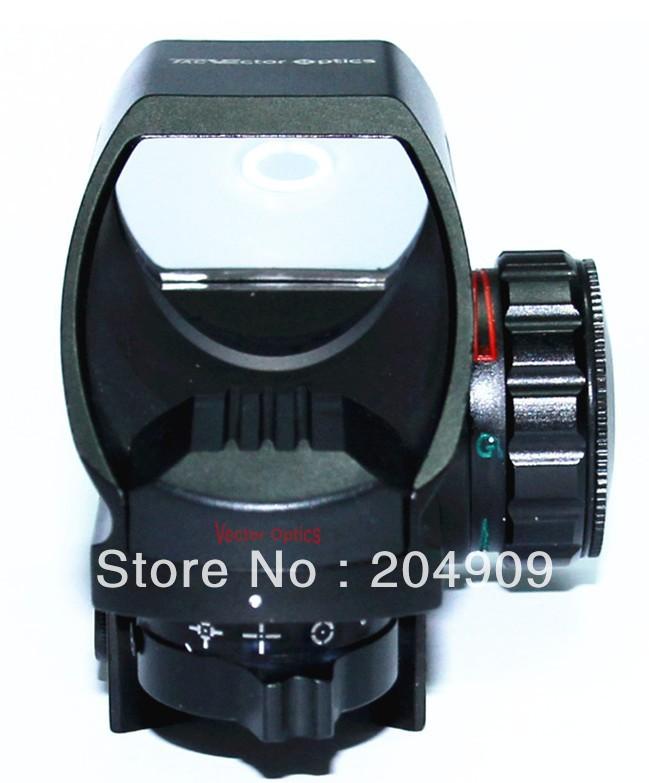 TAC Vector Optics Tomcat 1x22x33 Compact Reflex Red Green Dot Sight Riflescope with Weaver Mount Base