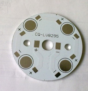 4w 45mm  Aluminum PCB, LED DIY Printed Circuit Boards LED heat sink aluminum base plate