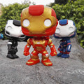 2016 HOT Funko Pop Anime Movie The Avengers Iron Man Action Figure Toys 3 Color Super