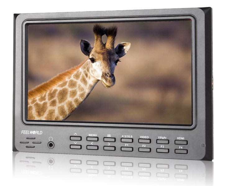 """Free Shipping!Feelworld FW7D/O 7"""" IPS Camera Top Field Video LCD Monitor Peaking HDMI In&Out(China (Mainland))"""