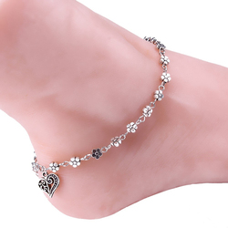 Best Deal Women Silver Bead Chain Anklet Ankle Bracelet Barefoot Sandal Beach Foot for Lady Perfect Gift 1pc