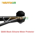 YUNEEC Q500 Black Silicone Motor Cover Motor Protector Motor Shielding