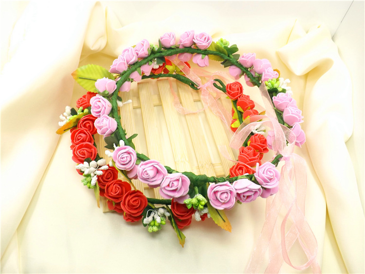 Head Wreath Online Floral Head Wreath Wedding