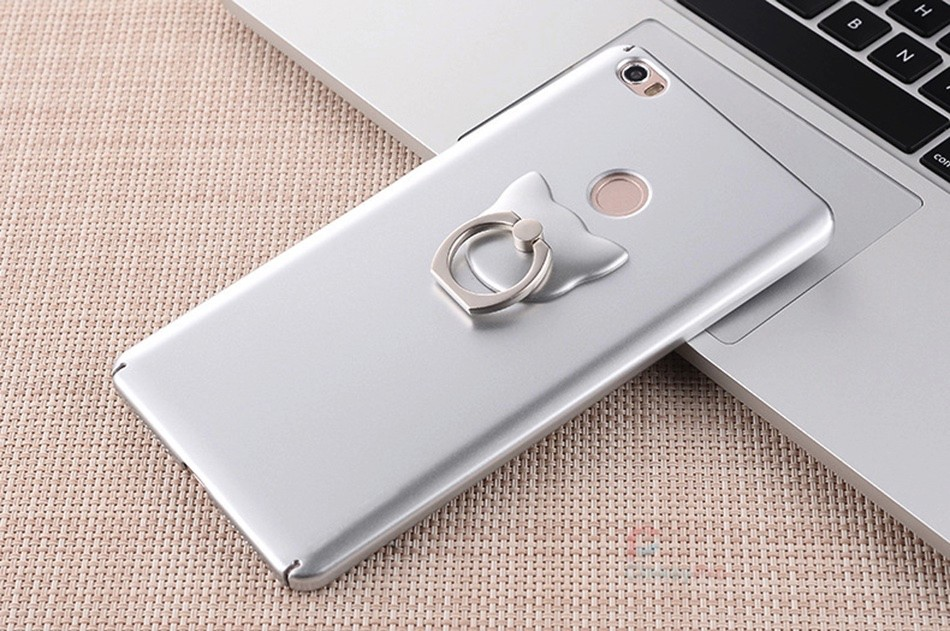 For Xiaomi Mi MAX Case Luxury Ring Holder Back Cover Hardness PC Housing Maxs 6.44 inch Mobile phone Accessories Cases CinkeyPro