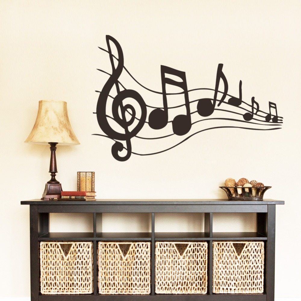Buy new lovely music symbols carved for Room ornaments