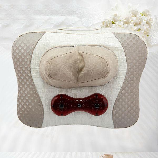 2014 Most Popular Kneading&Shiatsu Neck Massage Pillow Neck Massager Electric for Sale(China (Mainland))