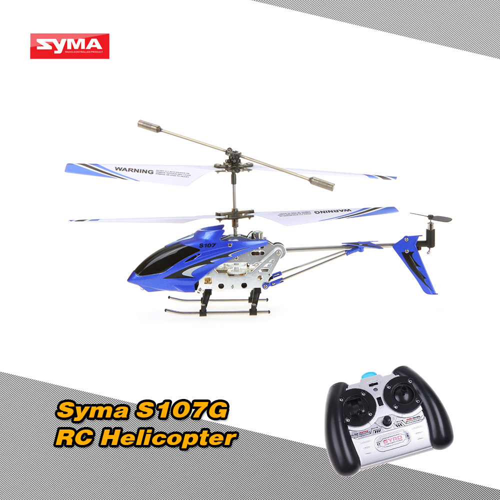 Brand Original Syma S107G RC Helicopter 3 Channel Infrared RC Helicopter/Quadcopter with Gyro & alloy fuselage High Quality(China (Mainland))