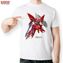 Aegis Gundam Seed T Shirt Design Inspired By Game Super Robot Wars T-shirt Cool Fashion Novelty Tshirt Men Women Printed Tee