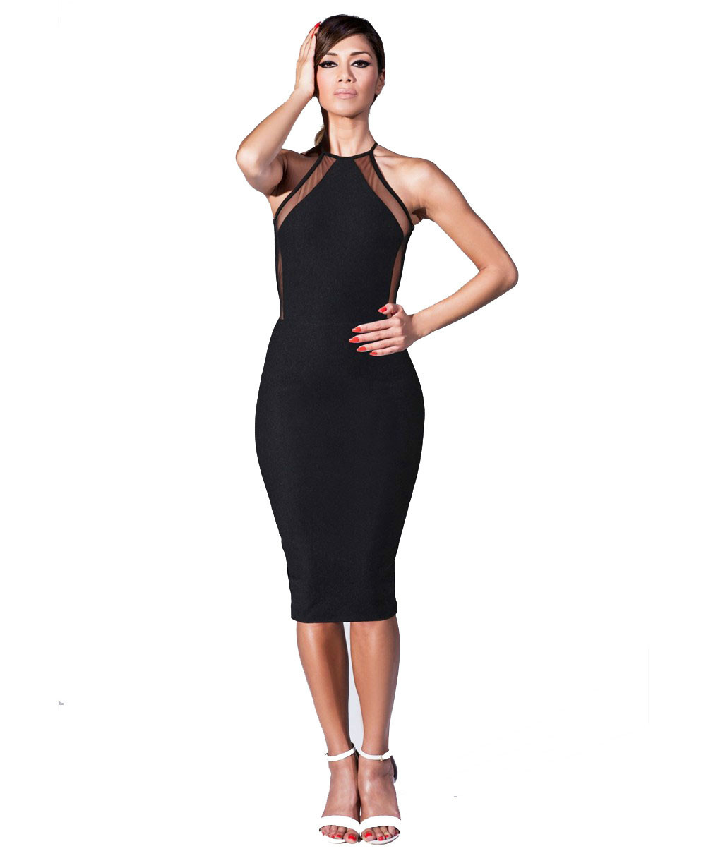 buy s xxl plus size bandage dress 2016. Black Bedroom Furniture Sets. Home Design Ideas