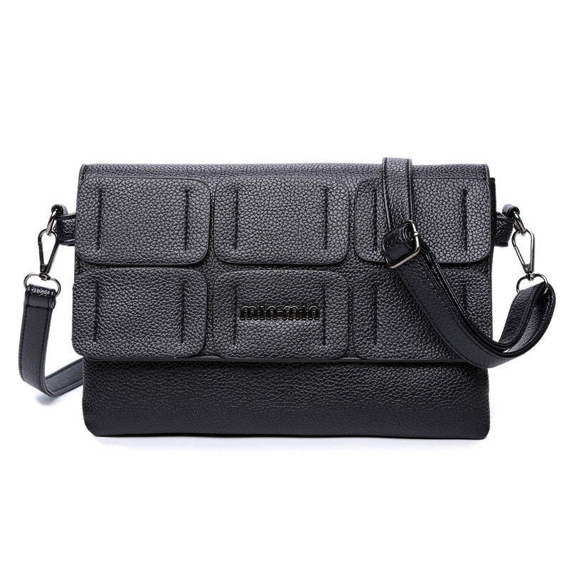 Hot sale 2016 fashion trendy leather evening bags all-match clutches bag retro women messenger bag patchwork women bags WLHB1344(China (Mainland))