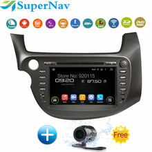"8"" ROM 16G 1024*600 Quad Core Android 5.1.1 Fit HONDA FIT, JAZZ 2007 2008 - 2012 2013 Car DVD Player Navigation GPS Radio Stereo(China (Mainland))"