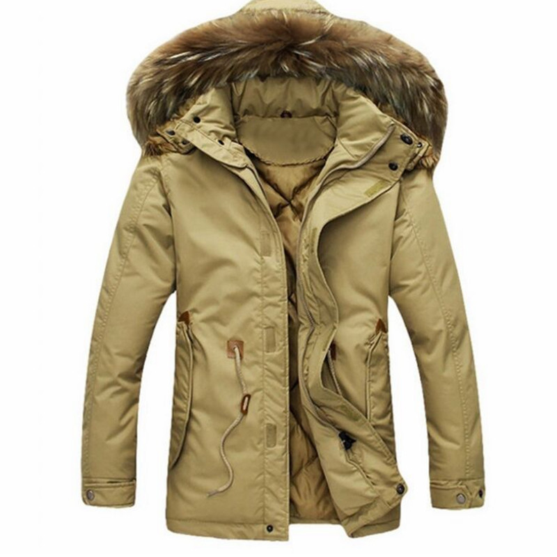 Down Coats 2015 New Arrival Winter Jacket Men Parka Thicken Casual Hooded Jacket Windbreaker Wadded Overcoat Manteau HommeОдежда и ак�е��уары<br><br><br>Aliexpress