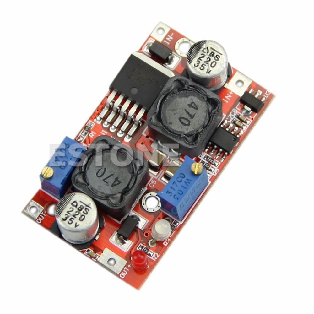 J34 Free Shipping LM2577 Automatic Boost Buck Converter 4-35V to 1.25-25V CC CV Voltage Regulator<br><br>Aliexpress