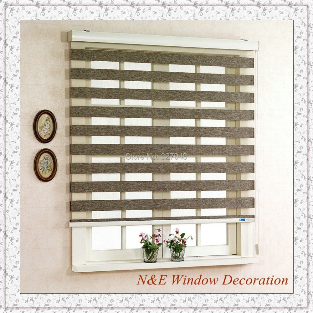 Free shipping Popular zebra blinds and custom window shades(China (Mainland))