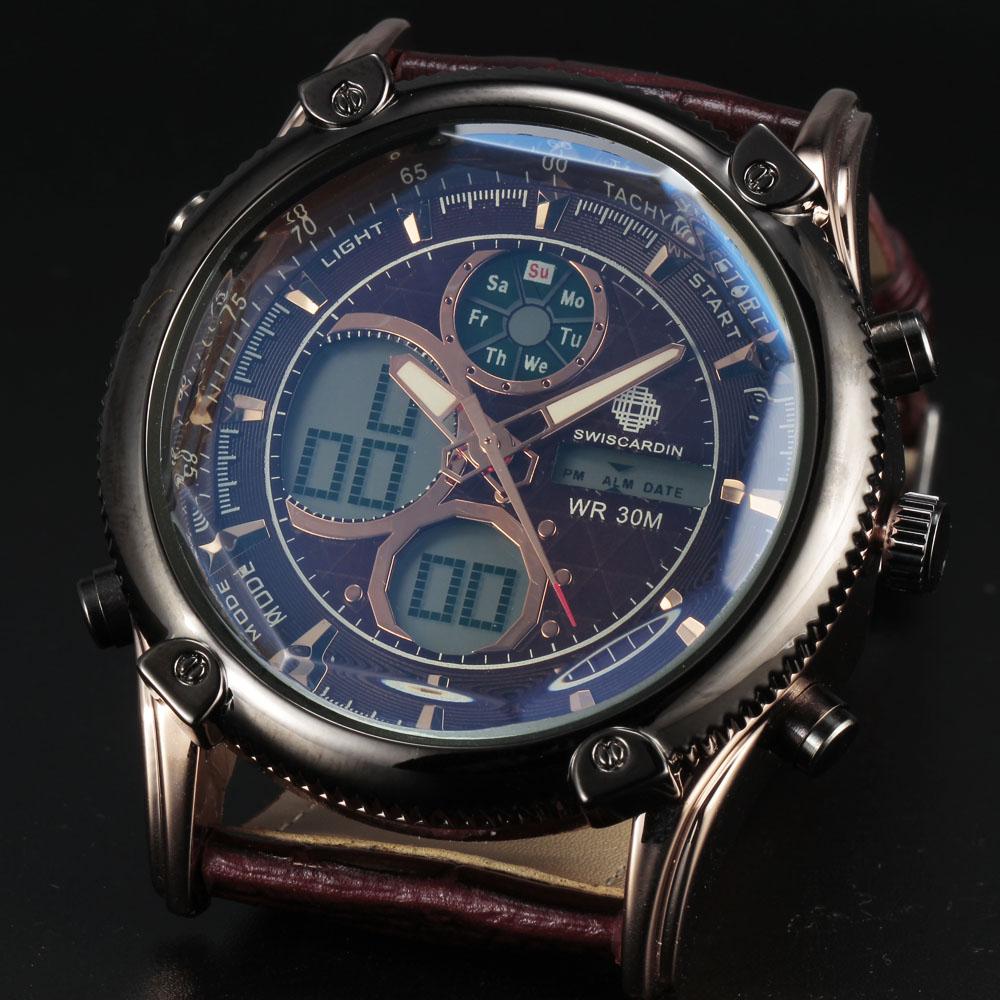 2016 new dual display s watches retro led digital