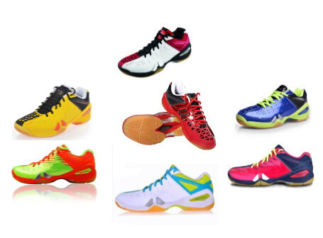 2015 New Arrival Men and women badminton shoes fashion sports shoes badminton sneakers shock table tennis shoes(China (Mainland))
