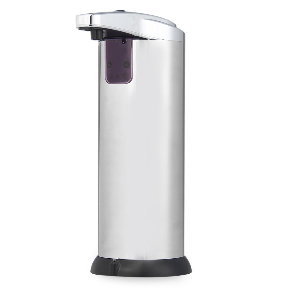 280ml new stainless steel ir sensor touchless automatic for Liquid soap dispenser for bathroom