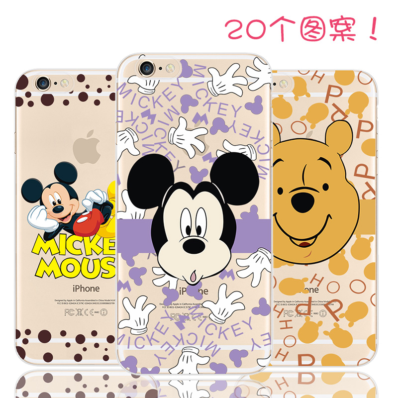 5 5S SE Hot Sale! Pattern Cartoon Mickey Mouse Silicon Phone Shell For Apple iPhone 5 5S iPhone5S Case Cases Cover 2016 Top New