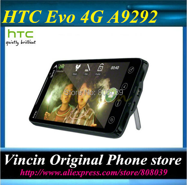 original unlocked HTC the Evo 4G A9292 CDMA GPS WIFI 8MP Cell Phone Hot sale Refurbished(China (Mainland))