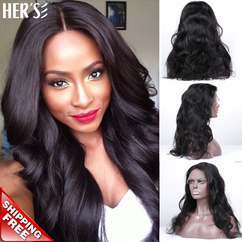 Фотография HERS Full Lace Wigs Human Hair Discount Lace Front Wigs Black Women Glueless Lace Front Human Hair Wig,Front Lace Wig Human Hair