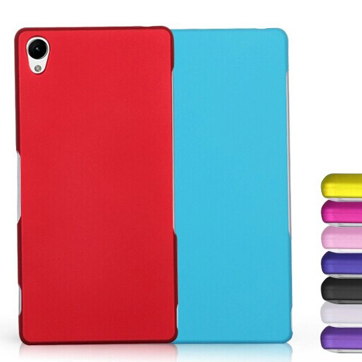 Z3 Matte Quicksand Anti-skid Style Various Color Case for SONY Xperia Z3 D6603 D6653 L55T Ultra thin Hard Back Protective Cover(China (Mainland))