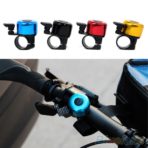 2014 New Safety Metal Ring Handlebar Bell Loud Sound for Bike Cycling bicycle bell horn 2KKB(China (Mainland))
