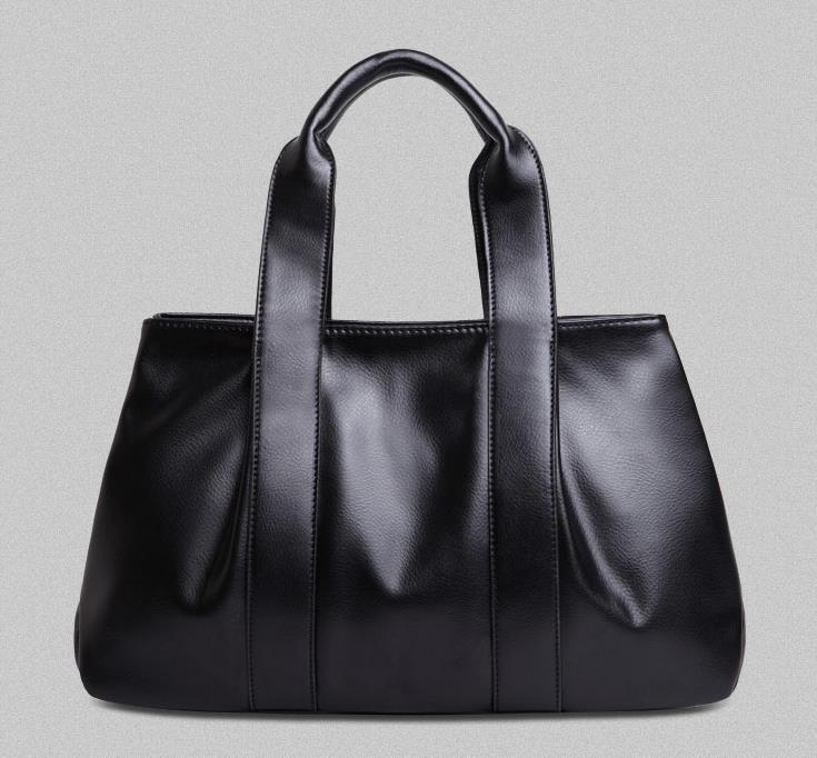 Hot 100% genuine leather bags women handbag 2015 fashion handbags ruffle solid color messenger bag cowhide - REDBERRY WOMEN LEATHER BAGS STORE store