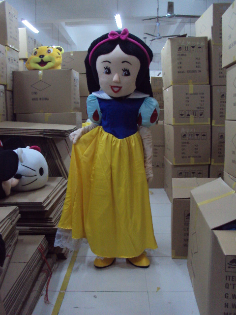 High quality Seven Dwarfs Mascot Costume snow White Mascot Costume Fancy Dress Outfit Halloween Mascot Costume(China (Mainland))