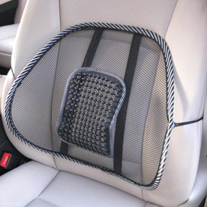 Mesh Lumbar Back Brace Support Office Home Car Seat Chair Cushion Cool High Quality(China (Mainland))