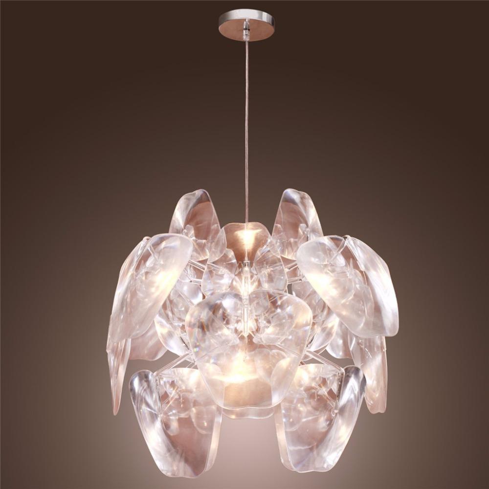 Floureon Modern Pendant Light,Transparent Light Creative Home Light Fixture Lamp, Decorative Light Pendant Lamp for Bedroom(China (Mainland))