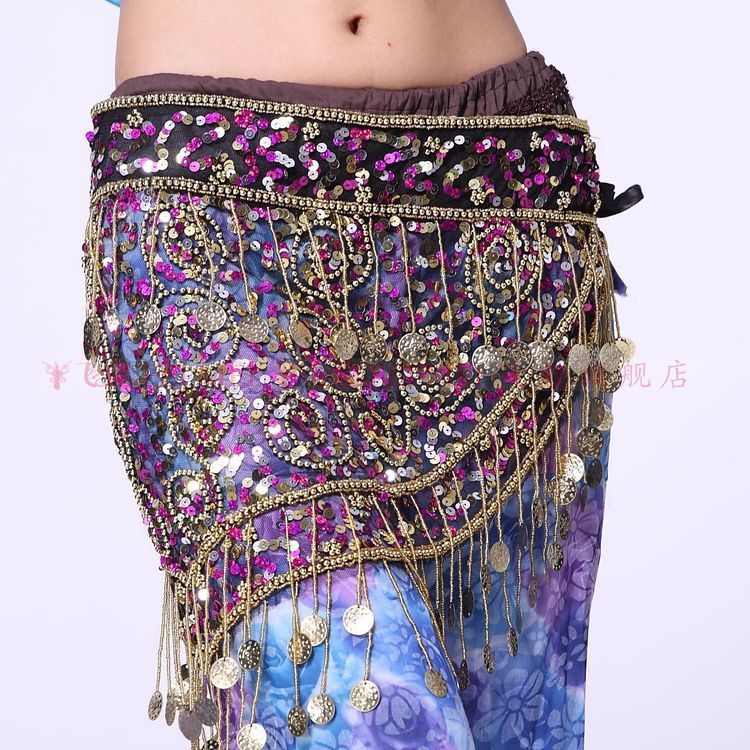 wholesale belly wear costume hip scarf