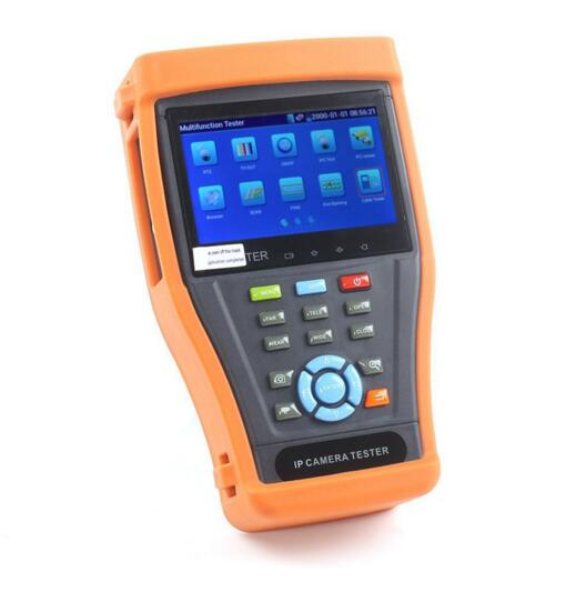 """4.3"""" Touch Screen IP Camera Test Monitor PoE Test CCTV Tester WIFI PTZ Controller IPC-4300(China (Mainland))"""