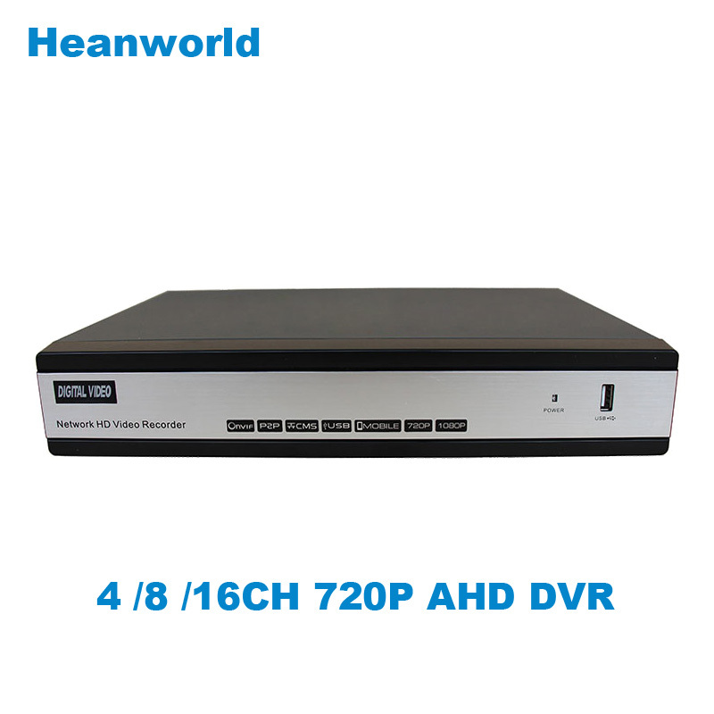 Newest 4CH/8CH/16CH AHD DVR 720P CCTV Video Recorder 4/8/16 channel Hybrid AHD DVR For AHD/Analog/IP Camera Security System(China (Mainland))