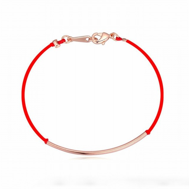 2016 день святого валентина подарок 3 металлические цвета новый красный канат браслет ...