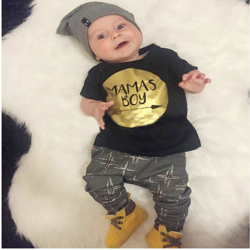 In the spring of 2016 the autumn small leopard bow work clothes children wear short-sleeved clothes baby crawl cotton(China (Mainland))