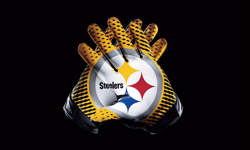 Pittsburgh Steelers Sport Team Products Gloves 3x5 ft flag 100D Polyester flag 90x150cm(China (Mainland))