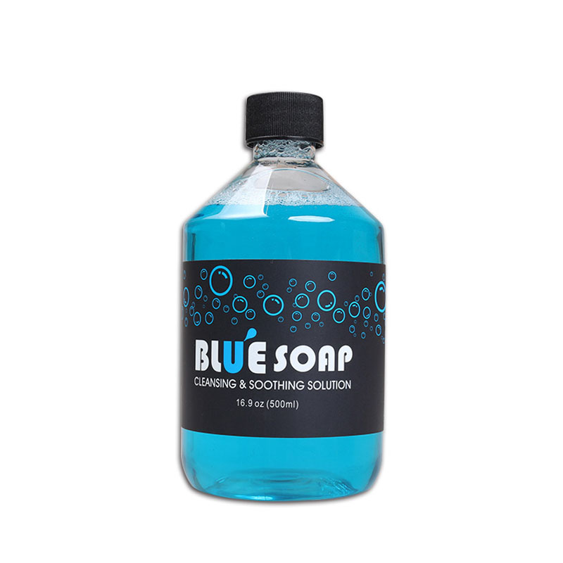 Cosco Tincture Tattoo Blue Soap 16 oz Bottle Clean Stencil Tattoo Soap(China (Mainland))