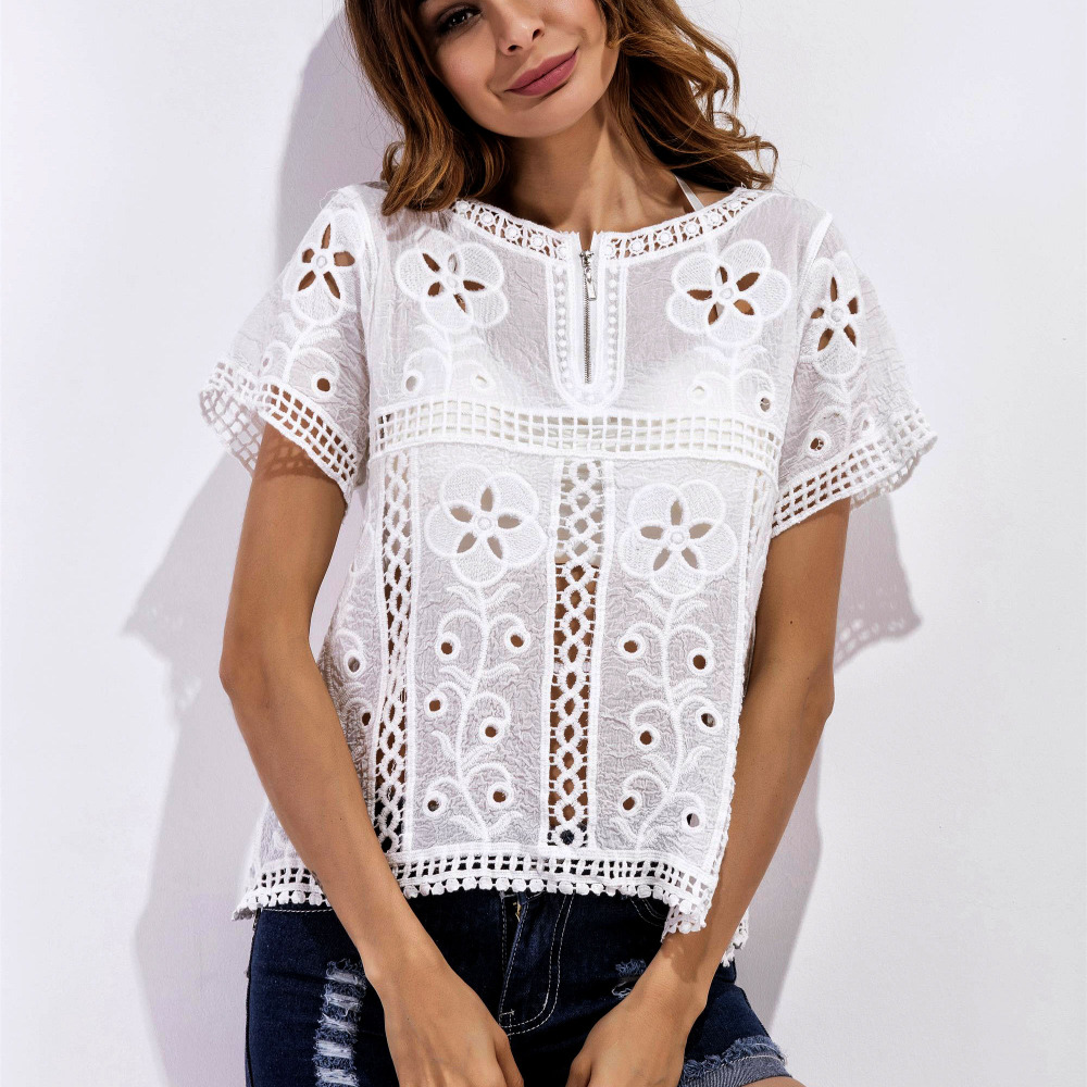 High Quality White Tunic Shirts Promotion-Shop for High Quality ...