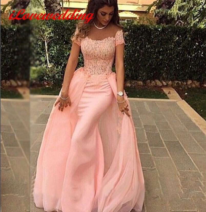 Les robes de soiree avec manches