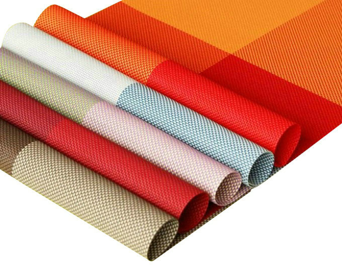 4 pieces of PVC insulation kitchen placemat table decoration washed clean breakfast lunch dinner(China (Mainland))