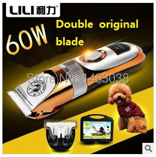 Professional Pet Shaving Styling tools Electric Dog Grooming Scissors Hair clippers Ceramic Shaver Dog/Cat Products Peluqueria(China (Mainland))