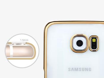 Przeźroczyste etui Samsunga Galaxy S6 | Case plecki